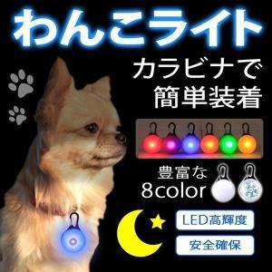 犬用 お散歩 ライト リード LED 散歩 安全 ペット 夜間 キーホルダー ハーネス ドッグ 首輪 おすすめ 光る ウォーキング ランニング