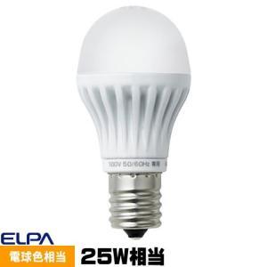 ELPA LDA4L-H-E17-G407 LED電球 ミニクリプトン形 25W相当 電球色 口金E17