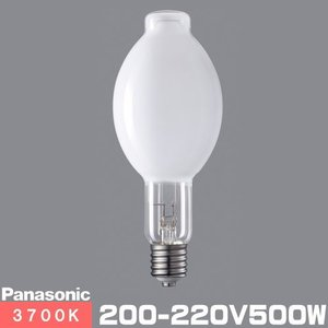 パナソニック BHF200-220V500W/N バラストレス水銀ランプ (旧形番:BHF200-220V500W) 一般形