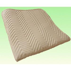 消臭 抗菌 丸洗い可 大きなベッドパッド Q(クイーン) サイズ rising-bed