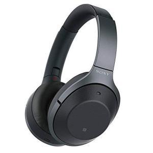 ソニー ワイヤレスノイズキャンセリングステレオヘッドセット WH-1000XM2-B ブラック
