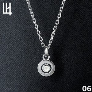 LION HEART PASSAGE OF TIME - Birth Color Stone 6月 Color of Moon Stone (オフホワイト) シルバーネックレス 01NE075106   [LH]|rismtown-y
