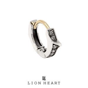 ライオンハート PROGRESSO プログレッソフープピアス/SV 01EA0091CL LION HEART シルバー ピアス 1点売り 片耳用 [LH]|rismtown-y