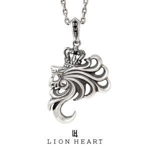 ライオンハート HOWLネックレス (ハウルペンダント/A) 14VLHP52AN LION HEART シルバーネックレス [LH]|rismtown-y