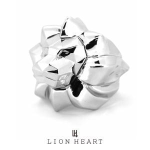 ライオンハート POLYGON リチャードリング/シルバー925  1RN107A LION HEART シルバーリング [LH] ギフト(誕生日 プレゼント) 送料無料 メンズ ブランド|rismtown-y