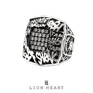 ライオンハート Street Sound Samplers サウンドエフェクトチャンピオンリング/シルバー925 1RN108A LION HEART シルバーリング [LH] ギフト プレゼント メンズ|rismtown-y