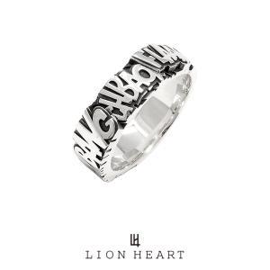 ライオンハート Street Sound Samplers サウンドエフェクトフラットリング/シルバー925 1RN109A LION HEART シルバーリング [LH] ギフト プレゼント メンズ|rismtown-y
