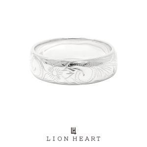 ライオンハート (I)will engrave ヘリテイジバレルリング/シルバー925 1RN115A LION HEART ウィルエングレイブ プルメリア シルバーリング プレゼント メンズ|rismtown-y