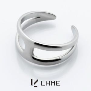 LHME ダイバーシティリング/TYPE H/サージカルステンレス 15号 [エルエイチエムイー] 2RN001H|rismtown-y