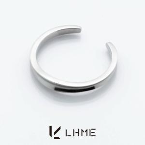 LHME ダイバーシティピンキーリング/TYPE A/サージカルステンレス 7号 [エルエイチエムイー] 2RN002A|rismtown-y