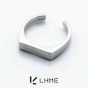 LHME ダイバーシティピンキーリング/TYPE C/サージカルステンレス 7号 [エルエイチエムイー] 2RN002C|rismtown-y