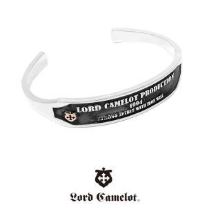 ロードキャメロット ロゴバングル シルバー LC1350 『STRONG SPIRIT WITH IRON WILL』 Lord Camelot プレゼント ギフト ブランド ケース付き rismtown-y