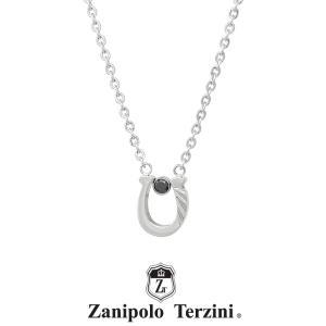 ザニポロタルツィーニ 馬蹄ネックレス フェザー サージカルステンレス ZTP3700MA/SUS  Zanipolo Terzini ホースシュー メンズ チェーン50cm  金属アレルギー対応|rismtown-y