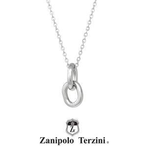 ザニポロタルツィーニ チェーンモチーフネックレス サージカルステンレス ZTP3718 MA/SUS  Zanipolo Terzini メンズ チェーン45cm 金属アレルギー対応|rismtown-y