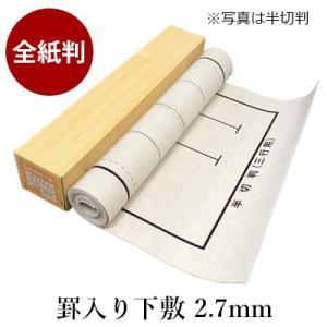 下敷き 書道 罫入りNフェルト2.7mm 全紙判 rissei