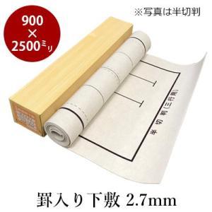 下敷き 書道 罫入りNフェルト2.7mm 3×8尺判 rissei