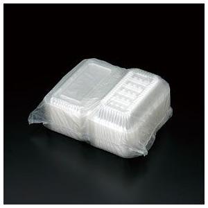 使い捨て容器 パック(中) 100枚入り クリアパック レジャー 透明|risu-onlineshop