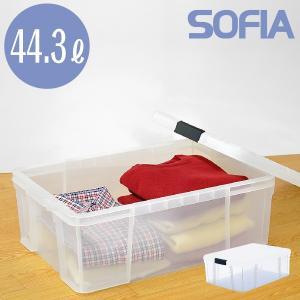 収納ボックス(S-03) 収納ケース 収納ラック フタ付き 透明 コンテナボックス|risu-onlineshop