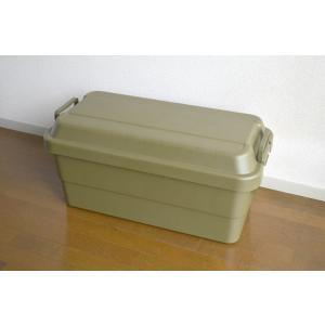 座れる 収納ボックス 迷彩 フタ付き 70L コンテナボックス|risu-onlineshop|03