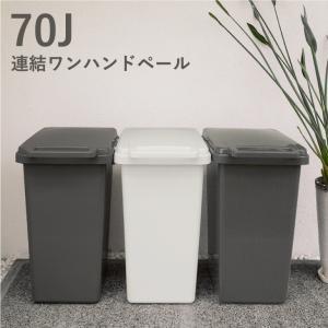 ゴミ箱 おしゃれ 70L キッチン 分別 屋外 日本製 シンプル