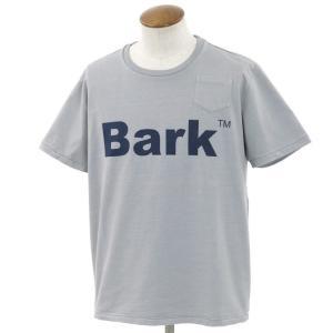 未使用 バーク Bark 半袖Tシャツ グレー×ネイビー M ritagliolibro