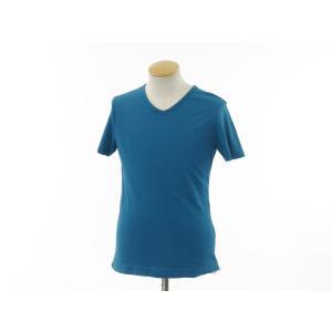 スリードッツ three dots 半袖Tシャツ グリーンブルー S|ritagliolibro|02