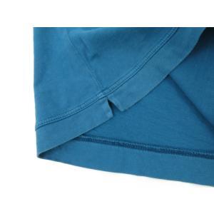 スリードッツ three dots 半袖Tシャツ グリーンブルー S|ritagliolibro|07