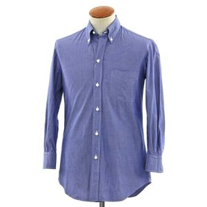 サルヴァトーレ ピッコロ Salvatore Piccolo カジュアルシャツ ブルー 38|ritagliolibro