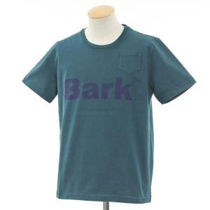バーク Bark 半袖Tシャツ ブルーグリーン系 S ritagliolibro