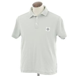 ストーンアイランド STONE ISLAND ポロシャツ ライトサージ系 XL|ritagliolibro
