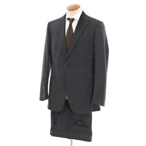 アウトレット ベルベスト Belvest super150'sウール タキシードスーツ ブラック 48 7R|ritagliolibro