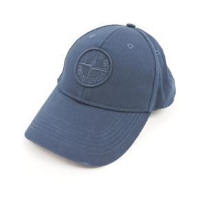 ストーンアイランド STONE ISLAND ベースボールキャップ 帽子 ネイビー L|ritagliolibro