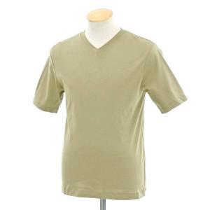 インターナショナルギャラリー ビームス International Gallery BEAMS Vネック 半袖Tシャツ ライトカーキ 46 ritagliolibro