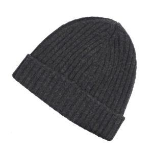 カングラ Kangra カシミア ニットキャップ 帽子 杢チャコールグレー M|ritagliolibro