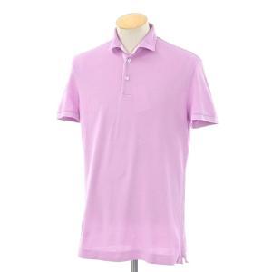 オリアン ORIAN コットン 半袖ポロシャツ ライトパープル S|ritagliolibro