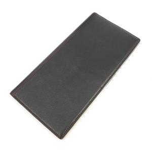 キプリス CYPRIS レザー 長財布 札入れ ブラック×アイボリー BLK|ritagliolibro