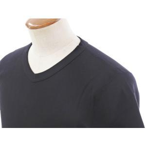 スリードッツ three dots コットン 半袖 Tシャツ ブラック M|ritagliolibro|04