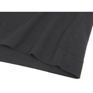 スリードッツ three dots コットン 半袖 Tシャツ ブラック M|ritagliolibro|08