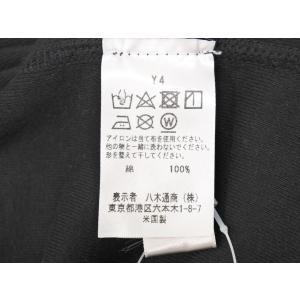 スリードッツ three dots コットン 半袖 Tシャツ ブラック M|ritagliolibro|09