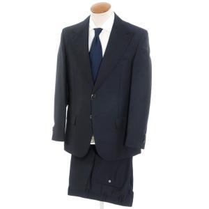 バランタイン BALLANTYNE モヘアウール 2つボタン スーツ ネイビー 50|ritagliolibro