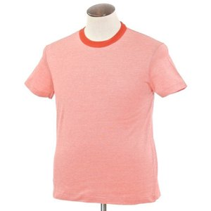 マーロ malo コットン 半袖Tシャツ オレンジレッド 50|ritagliolibro