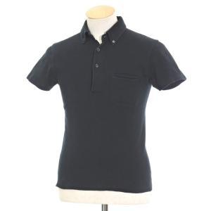 ルトロワ Letroyes コットン BDポロシャツ ブラック S|ritagliolibro