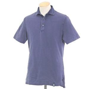ドルモア Drumohr コットン 半袖ポロシャツ グレイッシュパープル S|ritagliolibro