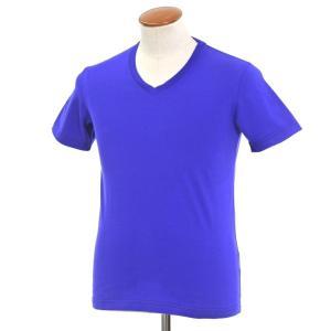 ポールスミス Paul Smith Vネック 半袖Tシャツ ロイヤルブルー M ritagliolibro