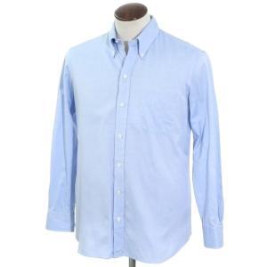 サルヴァトーレ ピッコロ Salvatore Piccolo オックスフォード ドレスシャツ ライトブルー L|ritagliolibro