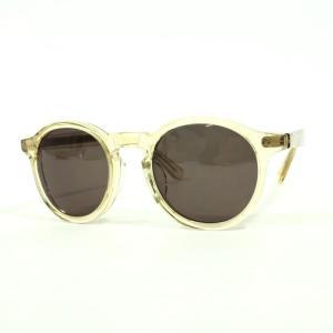 タイプ TYPE フルリム セル サングラス 眼鏡  クリアベージュ BEI|ritagliolibro