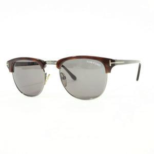 トムフォード TOM FORD レキシントン サングラス 眼鏡 ブラウン×メタリックグレー BRW|ritagliolibro