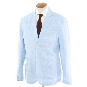 ジョバンニ イングレーゼ Giovanni Inglese リネン アンコン シャツジャケット ライトブルー 52|ritagliolibro