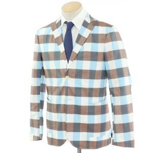 ジョバンニ イングレーゼ Giovanni Inglese アンコン シャツジャケット ブラウン系  46|ritagliolibro