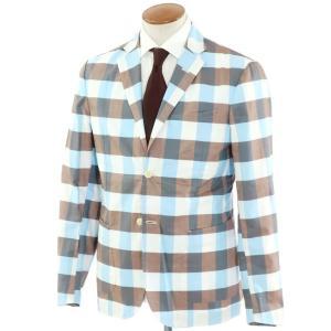 ジョバンニ イングレーゼ Giovanni Inglese アンコン シャツジャケット ブラウン系  50|ritagliolibro